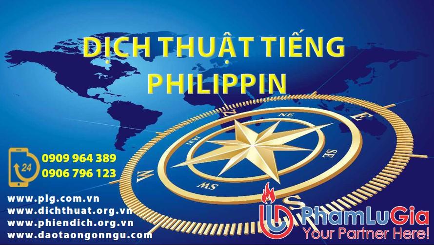 dịch văn bản tiếng philippin