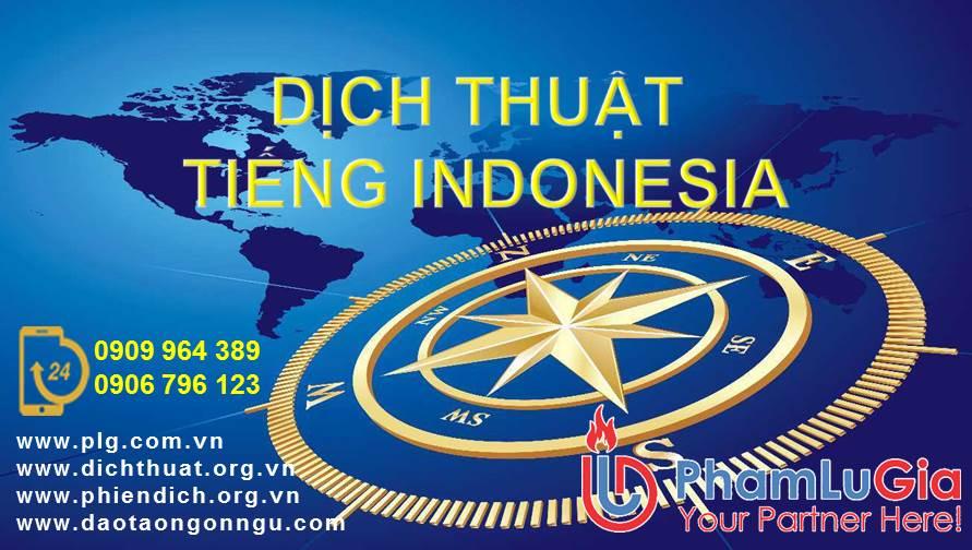 phiên dịch tiếng indonesia