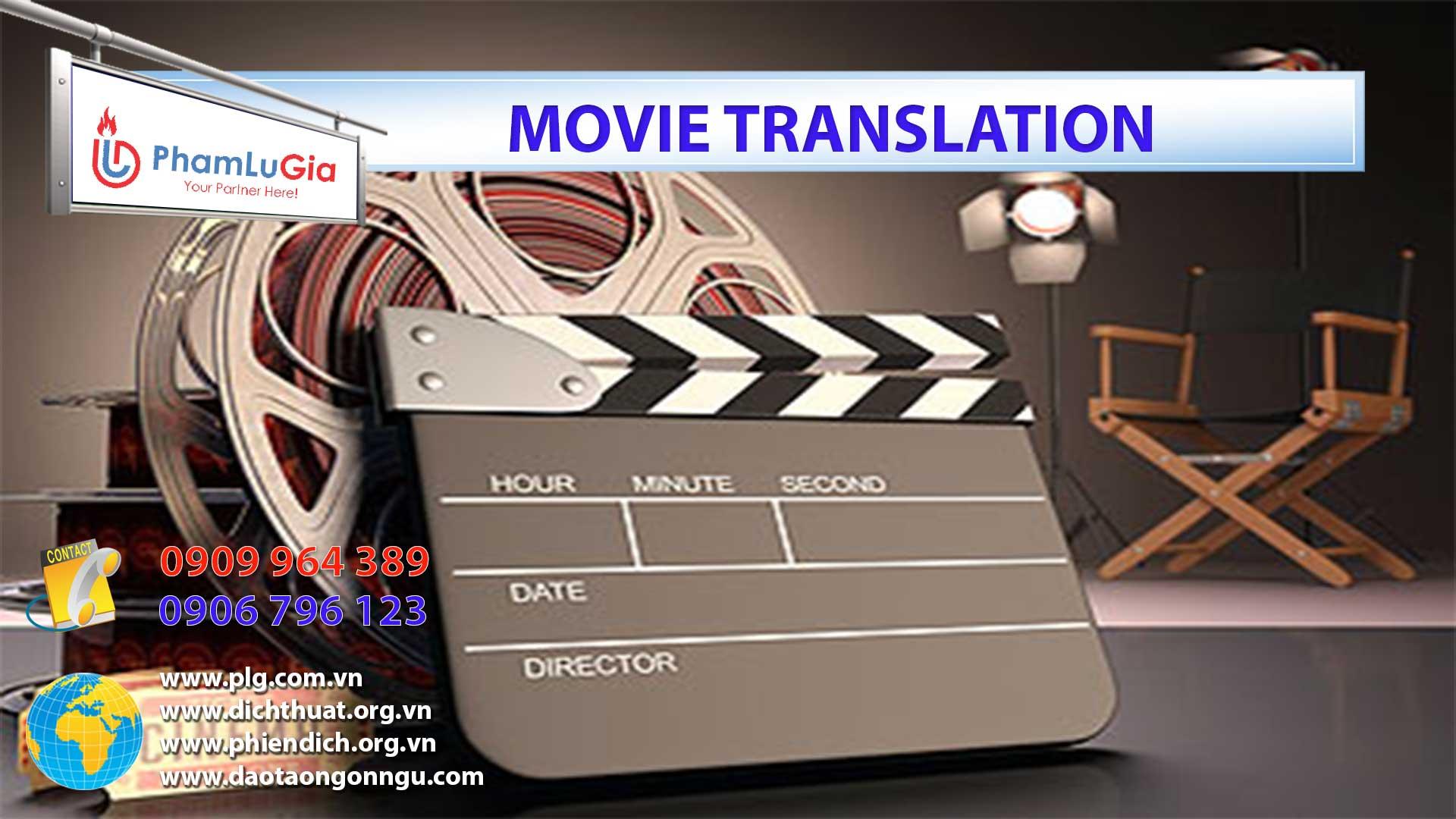 Movie Translation